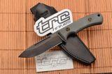 TRC Knives K-1 FULLER M390 Micarta/Leather