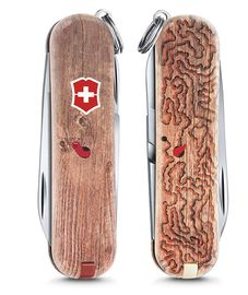 Swiss army knife - Classic LE 2017 WOODWORM 0.6223.L1706