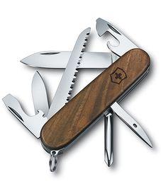 Nože Victorinox - Nôž Victorinox HIKER Wood 1.4611.63