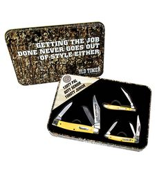 Schrade Old Timer Gift Set