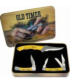 Schrade Old Timer Scrimshaw Gift Set
