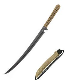 United Cutlery Black Ronin Tanto Sword Khaki UC3272