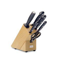 Wüsthof GOURMET Blok s nožmi - 6 dielov